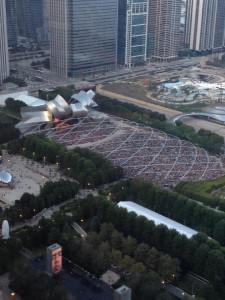 chicago concert crowd